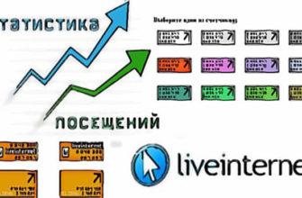 Счетчик liveinternet для сайта.